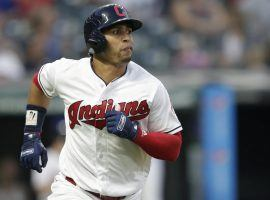 Cleveland Indians outfielder Leonys Martin is in stable condition as he recovers from what was a potentially life-threatening bacterial infection. (Image: Tony Dejak/AP)