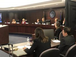 The Nevada Gaming Commission delivered more than just a tongue lashing to executives from CG Technology. (Image: KSNV News 3/Twitter)