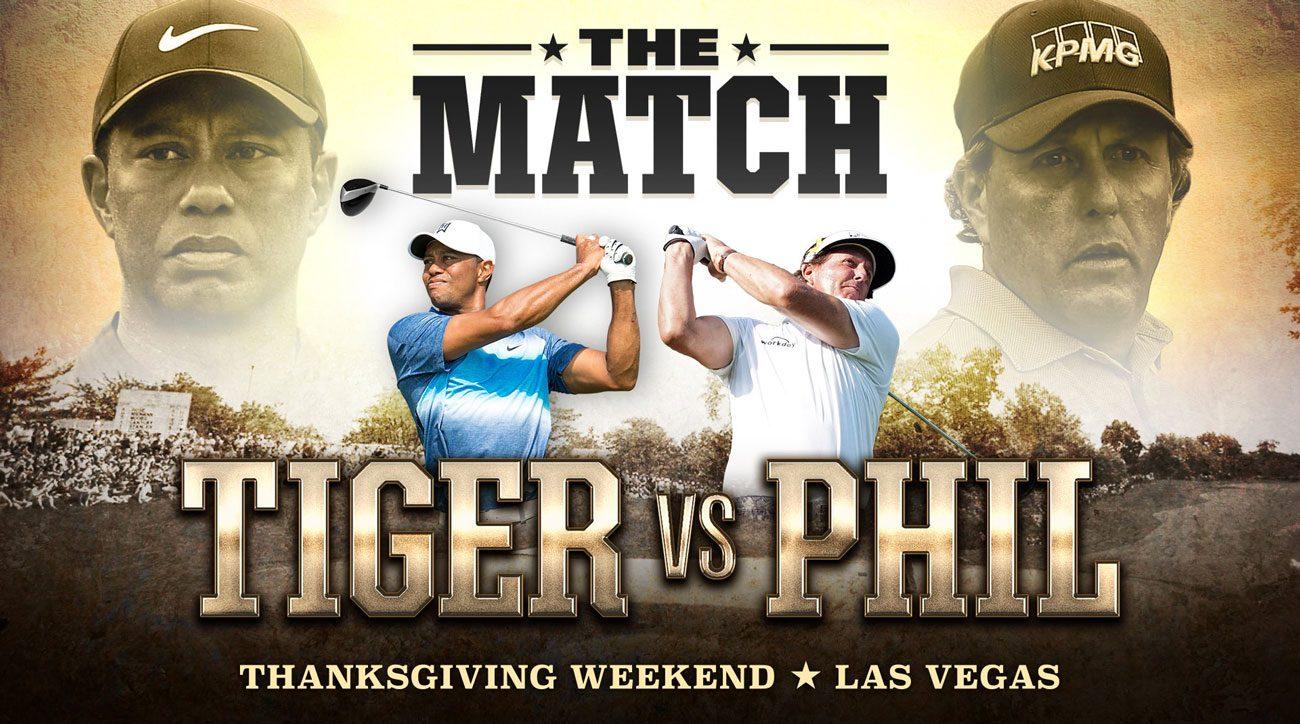 Tiger vs. Phil match