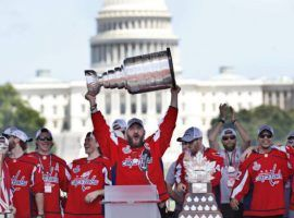 The Washington Capitals had a parade in the D.C. area, but some members might skip a White House invitation. (Image: Getty)