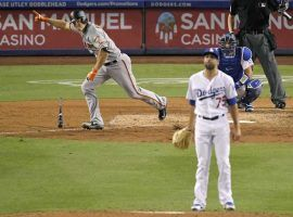 Los Angeles Dodgers relief pitching has been dreadful lately, as the bullpen gave up five consecutive saves. (Image: AP)