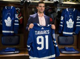 John Tavares is expected to give his new team, the Toronto Maple Leafs, a chance to win the Stanley Cup. (Image: Toronto Sun)