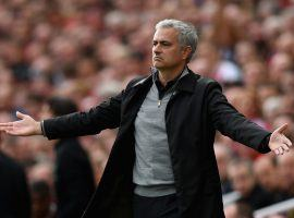 Manchester United coach Jose Mourinho is again the topic of firing talks after his team lost to Brighton. (Image: Getty)