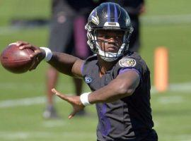 Rookie quarterback Lamar Jackson is expected to play in the Hall of Fame Game on Thursday. (Image: Baltimore Sun)