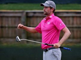 Webb Simpson, who won the Players Championship, is the favorite to win the Wyndham Championship at 12/1. (Image: USA Today Sports)