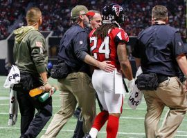 The Atlanta Falcons will be without running back Devonta Freeman for the second consecutive week as they host NFC South rival the New Orleans Saints. (Photo: Brett Davis/USA Today)
