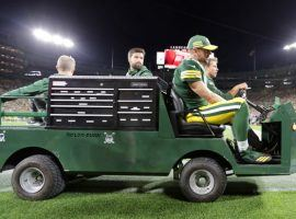 The status of Green Bay Packers' quarterback Aaron Rodgers is the major injury story line of Week 2 of the NFL season. (Photo: Wm. Glasheen/USA TODAY)