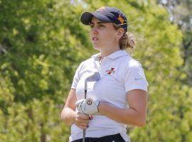 Celia Barquin Arozamena was found dead on a golf course in Ames, Iowa on Monday. (Image: Iowa State Athletics)