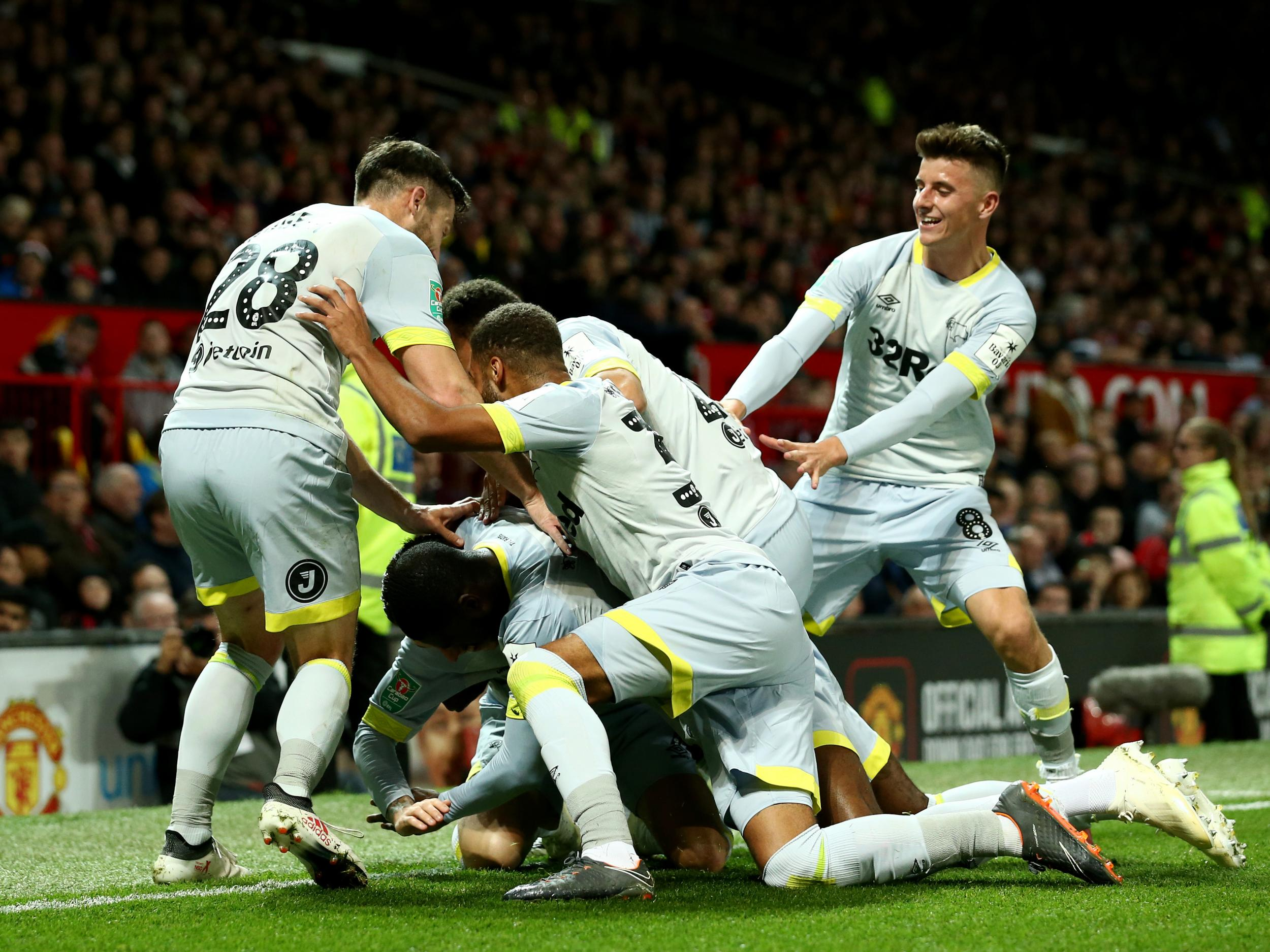a4ac28e73 Manchester United Eliminated from Carabao Cup by Derby County