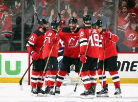 Team president Hugh Weber says that the New Jersey Devils will earn about $5 million from marketing deals with sports betting firms this season. (Image: Bruce Bennett/Getty)
