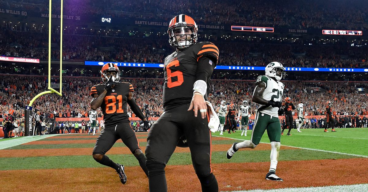Baker Mayfield Steps in to Lead Cleveland Browns to Their First Victory in Forever
