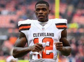 Josh Gordon was traded to the New England Patriots on Monday, ending a six-year stint with the Cleveland Browns. (Image: Diamond/Getty)