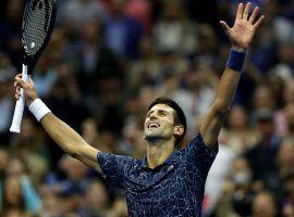 Novak Djokovic won the US Open on Sunday, earning his 14th career Grand Slam title. (Image: Getty)