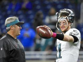 Philadelphia Eagles' quarterback Carson Wentz has been medically cleared to play and will start in Week 3 against the Colts, the team announced on Monday. (Photo: Paul Sancya/AP)