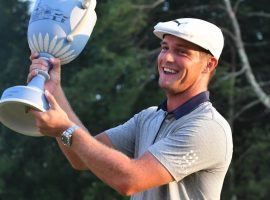 Bryson DeChambeau has won the last two tournaments, but is not the favorite at the BMW Championship. (Image: USA Today Sports)