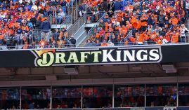 DraftKings CEO Jason Robbins said the company will reach two million bets on its mobile app this Sunday, less than two months after debuting it in August. The popularity, he said, is due in large part to betting market surrounding the NFL. (Photo: Mark Rebilas/USA Today)