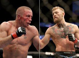 Could Georges St-Pierre be slimming down in anticipation for a fight with Conor McGregor? (Source: Business Insider)