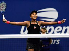 Naomi Osaka defeated Serena Williams in the finals of the US Open on Saturday. (Image: Getty)