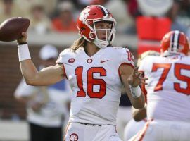 True freshman Trevor Lawrence will get the start for Clemson when they face Syracuse on Saturday. (Image: USA Today Sports)