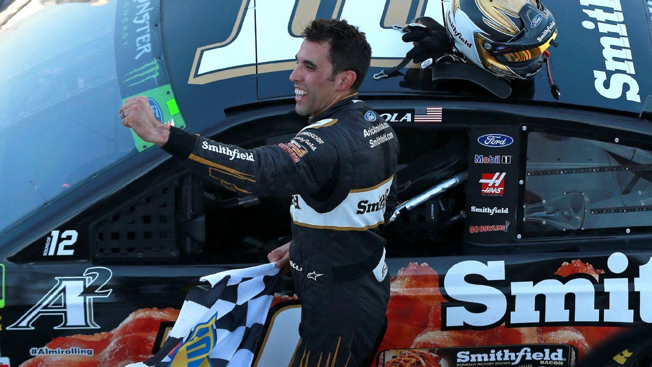 Aric Almirola secures overtime victory — NASCAR Talledega