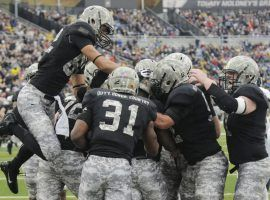 Army Black Knights have third-best run offense in nation (Image: Hans Pennink/AP)