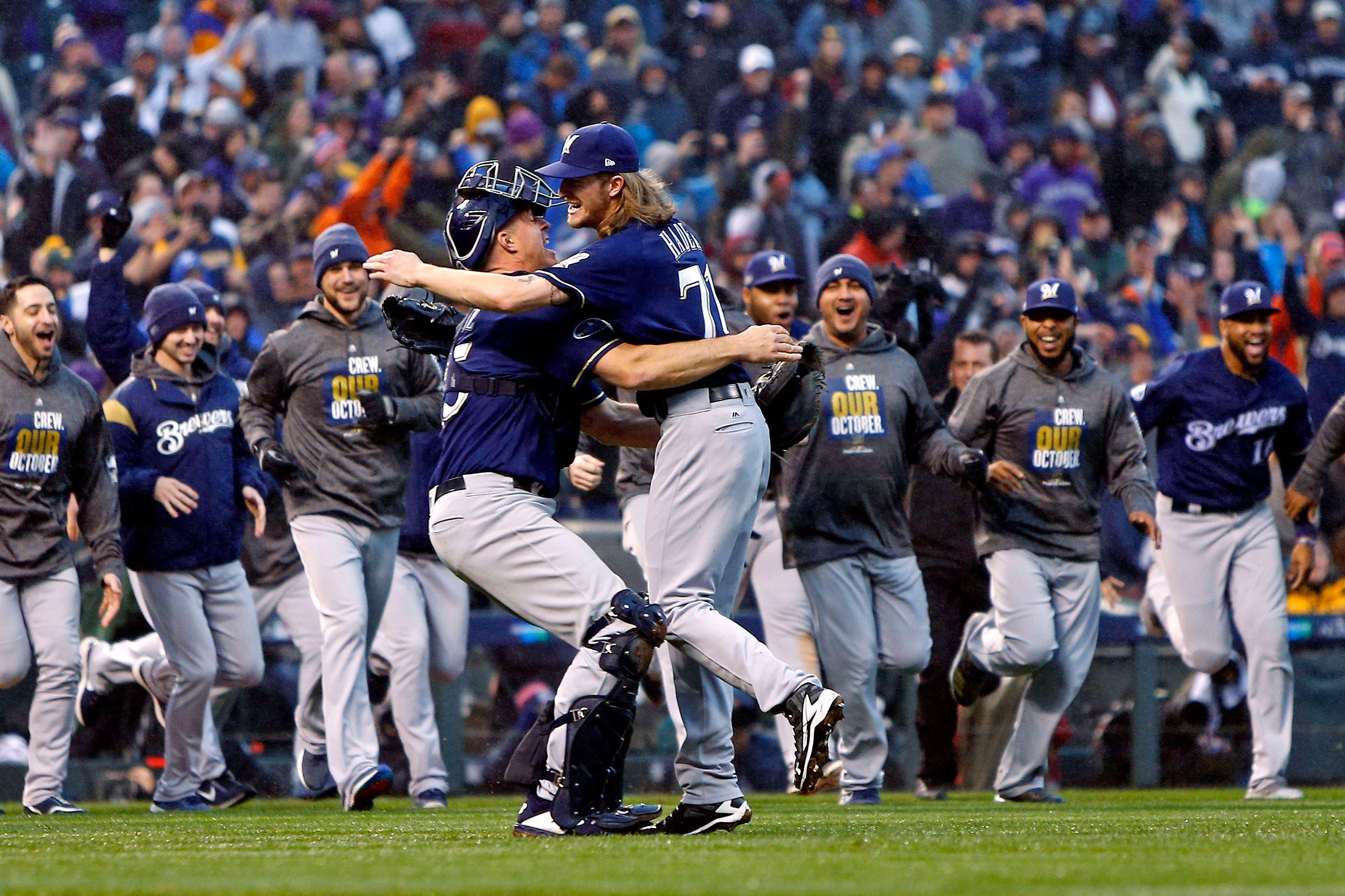 Milwaukee Brewers sweep NLDS