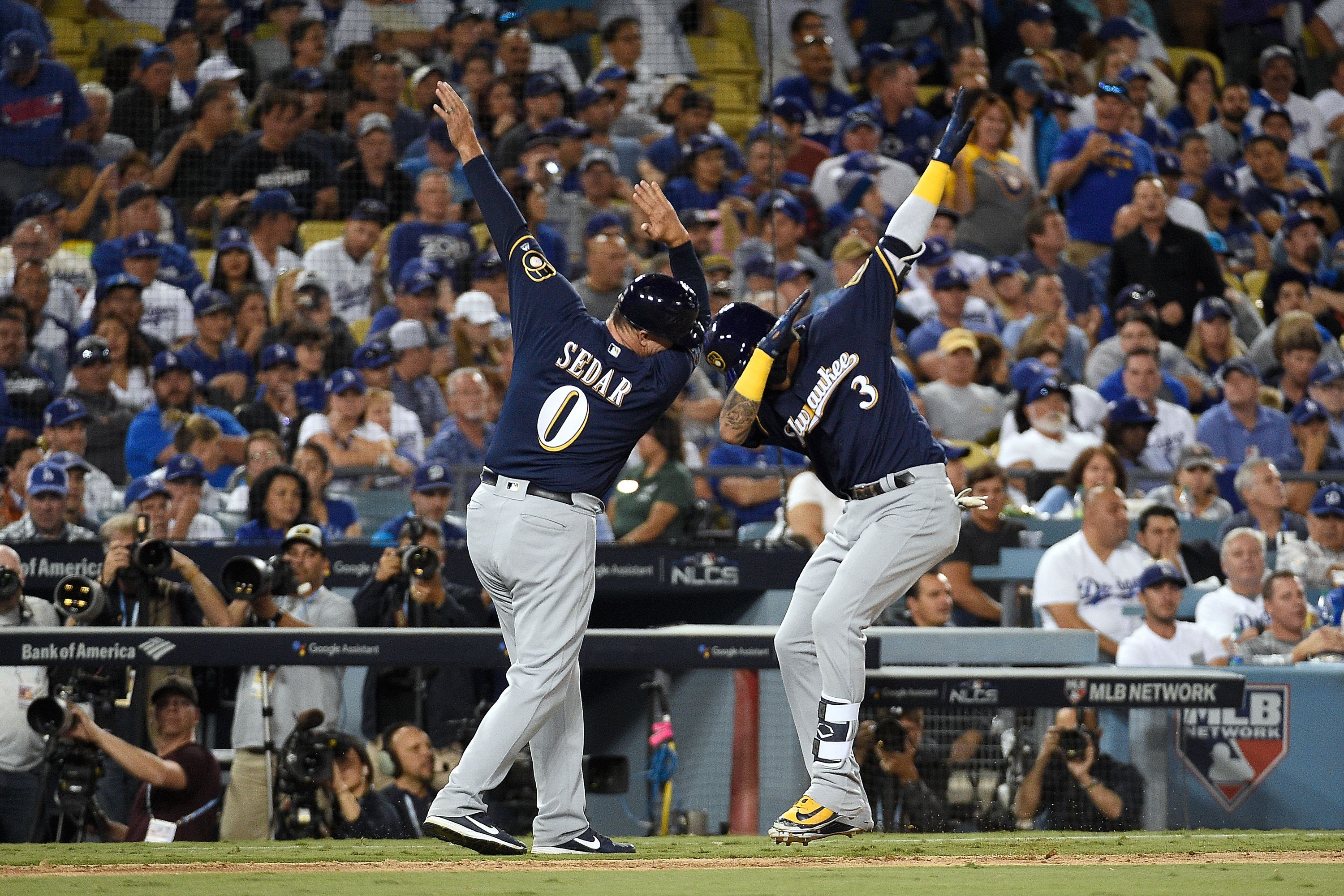 Brewers Dodgers NLCS