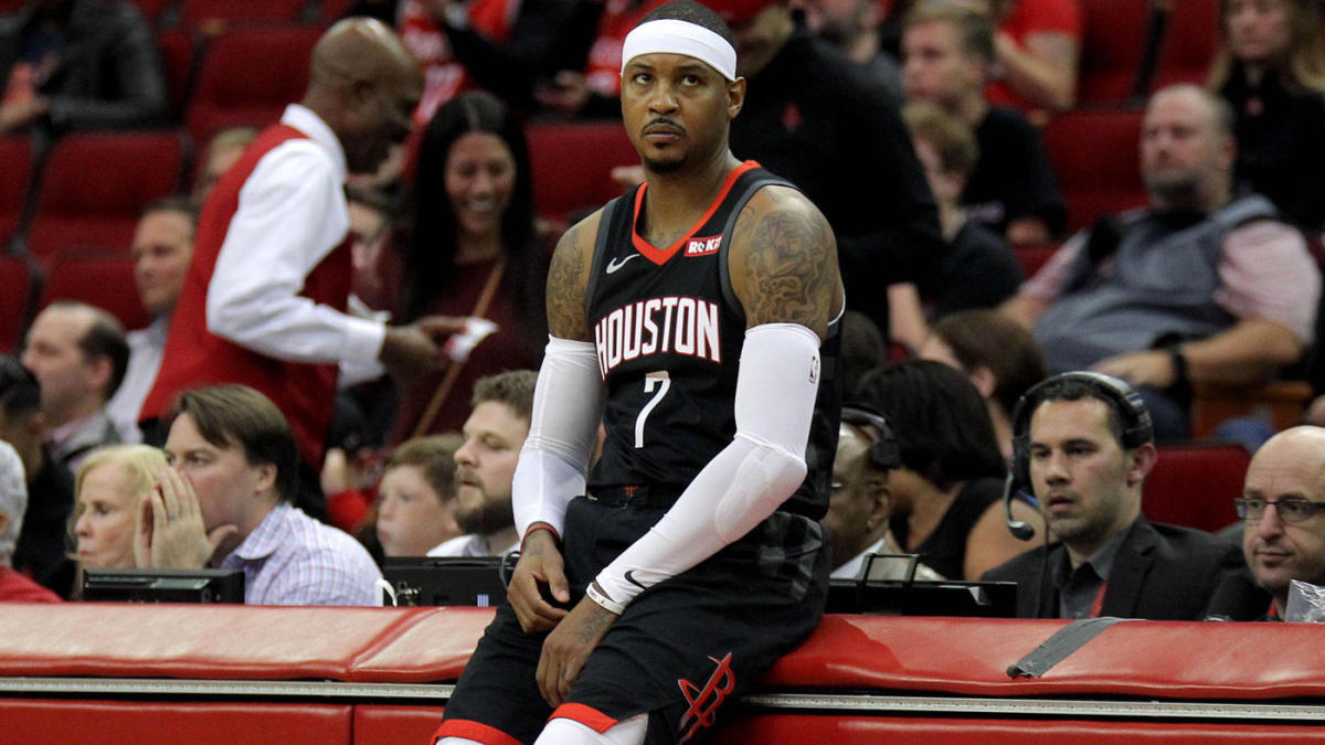 Carmelo Anthony Struggles in Rockets Debut, Says Coming Off Bench is 'Challenging Mentally'