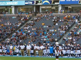 The Chargers are struggling to attract fans since their move to Los Angeles, a situation that has left some owners wondering about the team's long term viability in the city.  (Image: San Diego Union-Tribune)