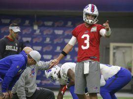 Veteran quarterback Derek Anderson was named the Buffalo Bills starter after an elbow injury to Josh Allen. (Image: Buffalo News)