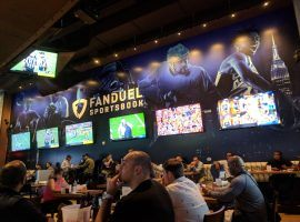 The FanDuel Sportsbook at Meadowlands Racetrack led New Jersey in brick-and-mortar sports betting revenues in September. (Image: Ed Scimia/OnlineGambling.com)