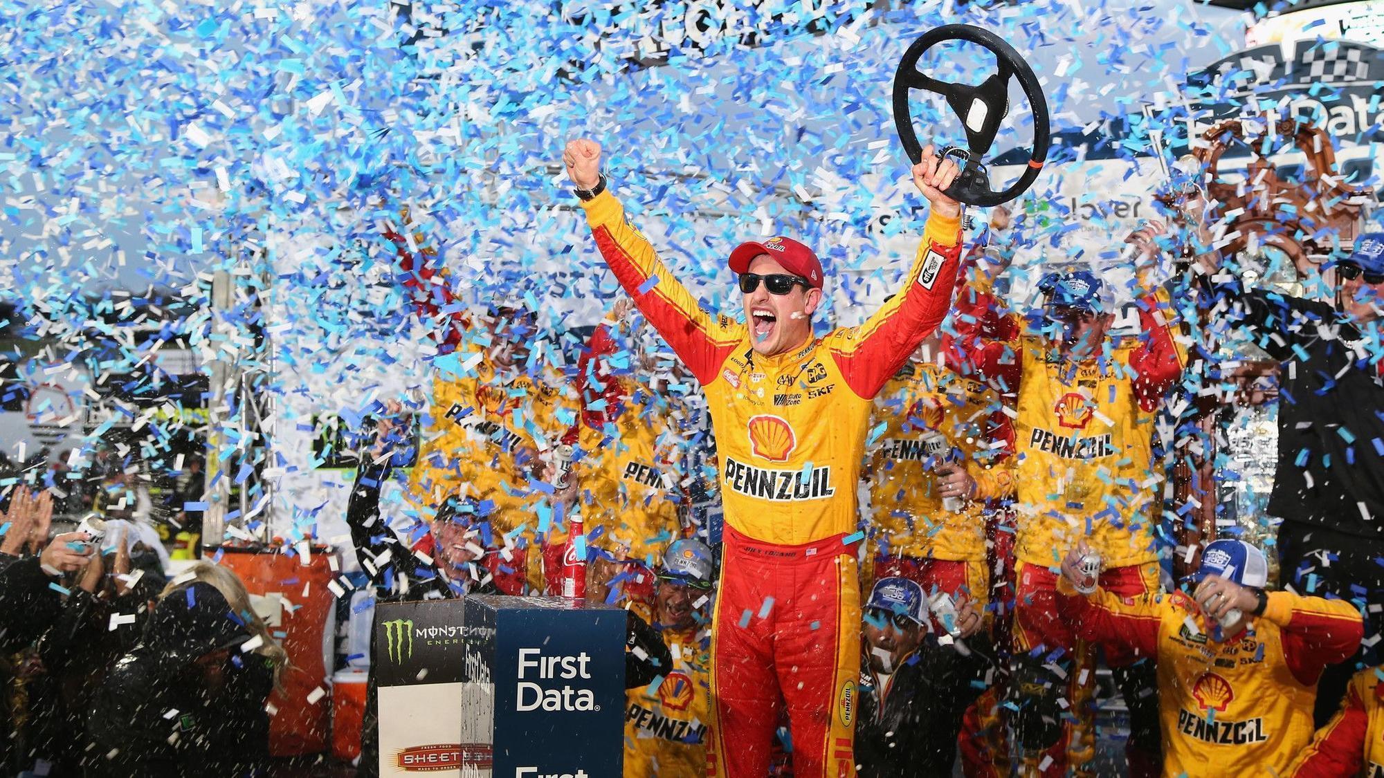 Joey Logano NASCAR playoffs