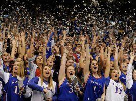 Kansas Jayhakws ranked #1 in the preseason poll (Image: Getty)