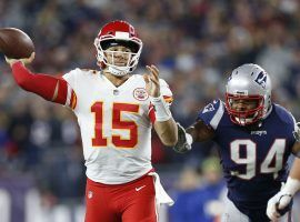 Kansas City's Patrick Mahomes is leading the NFL's top passing attack (Image: Greg M. Cooper/USA Today)