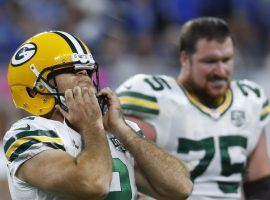 Mason Crosby missed 5 kicks in the Packers' loss against the Lions (Image: AP)