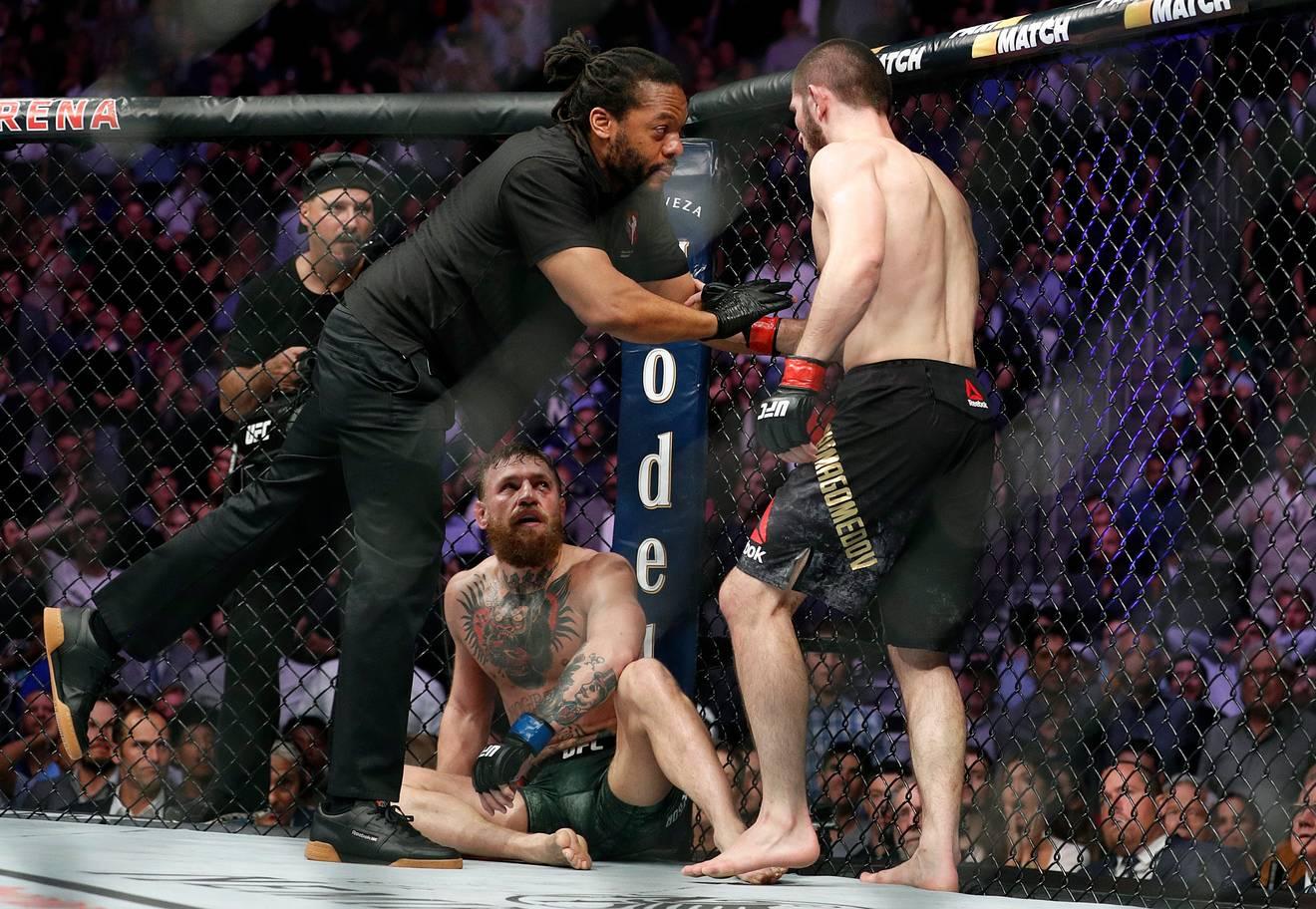Nurmagomedov McGregor UFC 229