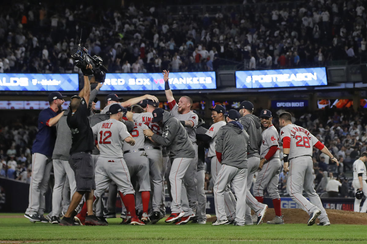 Red Sox ALDS win