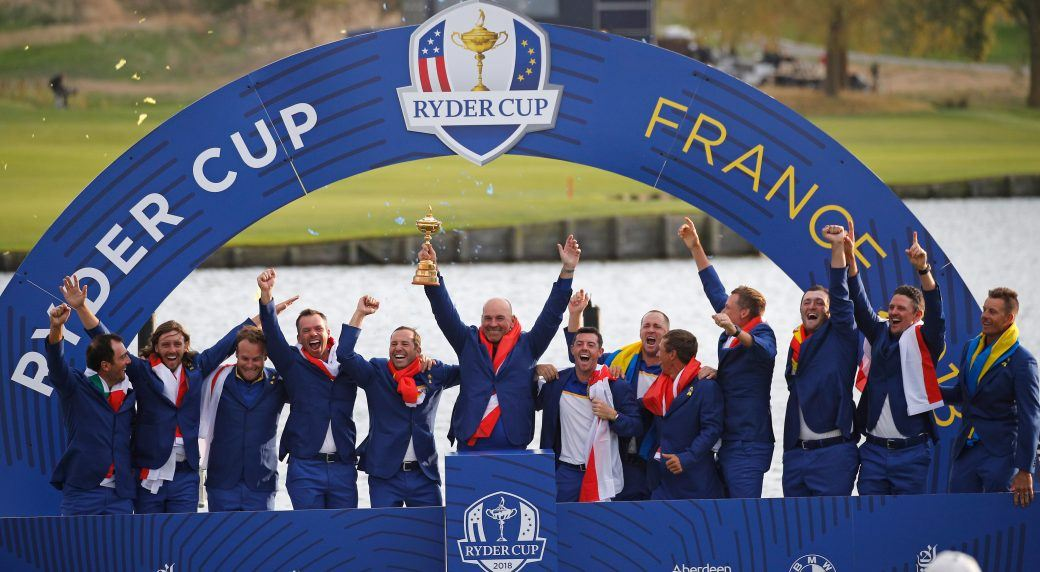 Europe Ryder Cup win