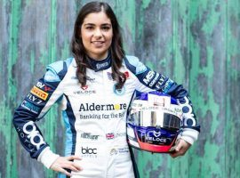 Jamie Chadwick, who became the first woman to win a British Formula 3 race this summer, is expected to take part in the W Series. (Image: Jess Hand)
