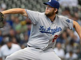Los Angeles Dodgers pitcher Clayton Kershaw has had success at Miller Park, site of Game 1 of the NLCS. (Image: USA Today Sports)