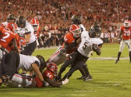 Georgia downed Vanderbilt on Saturday to remain in the No. 2 spot in the AP Top 25 poll. (Image: Justin Fountain)