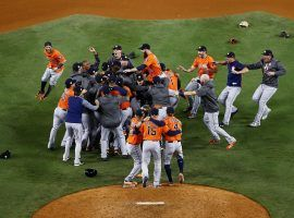 Will the Houston Astros be able to do it again? Las Vegas sportsbooks say it's a good bet, even though history begs to differ. (Image: Tim Bradbury/Getty)