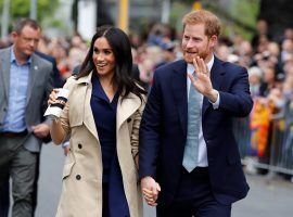 Meghan Markle and Prince Harry tour Australia five days after announcing there are expecting their first child in the spring. (Image: Getty)
