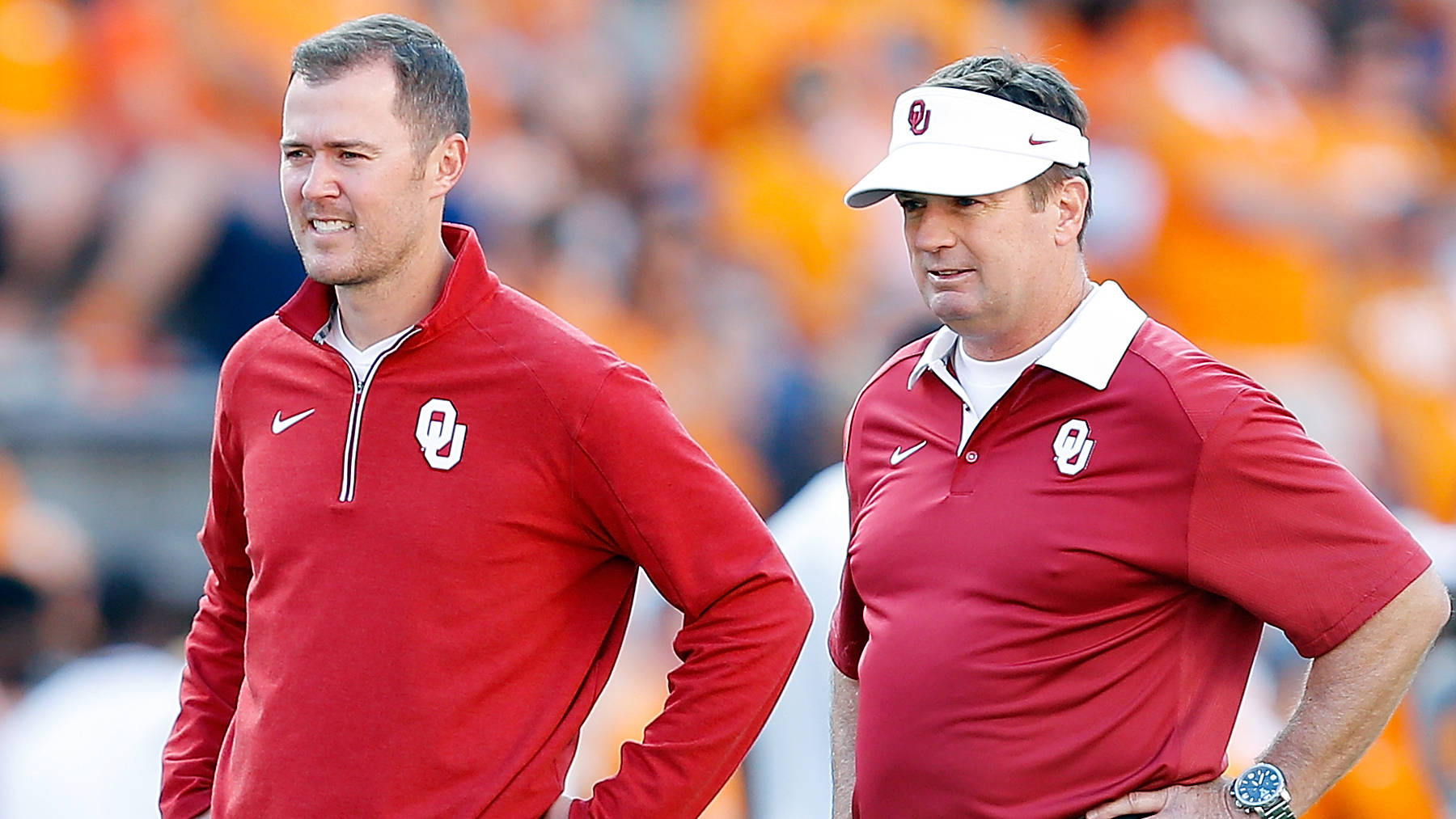 Lincoln Riley, Mike Stoops