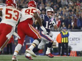 New England quarterback Tom Brady was able to lead the Patriots over Kansas City, 43-40. (Image: AP)