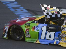 Kyle Busch won in Phoenix to clinch his spot in the Championship 4 round of the NASCAR Cup Series playoffs. (Image: Kelvin Kuo/USA Today Sports)