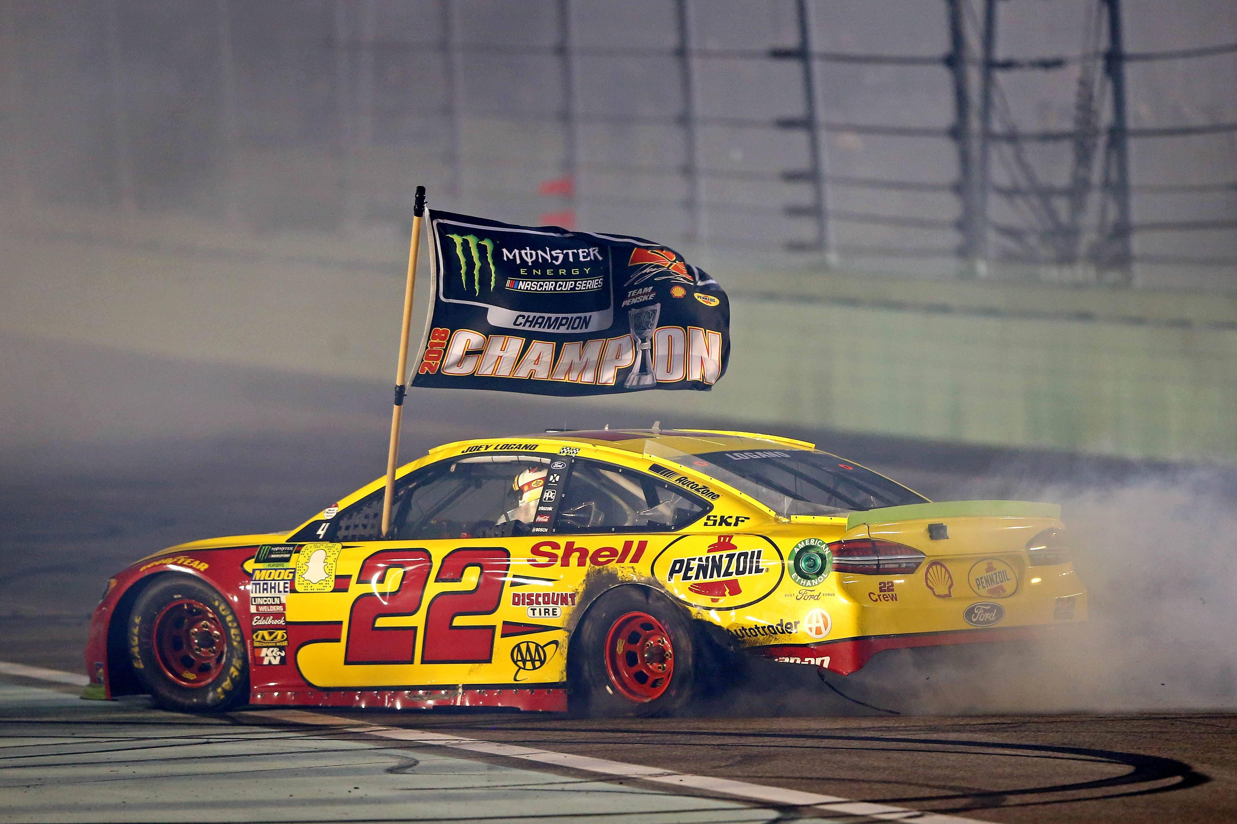 Joey Logano NASCAR championship