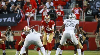 Monday Night Football Preview: Nick Mullens to Start at QB for Niners Against the Giants