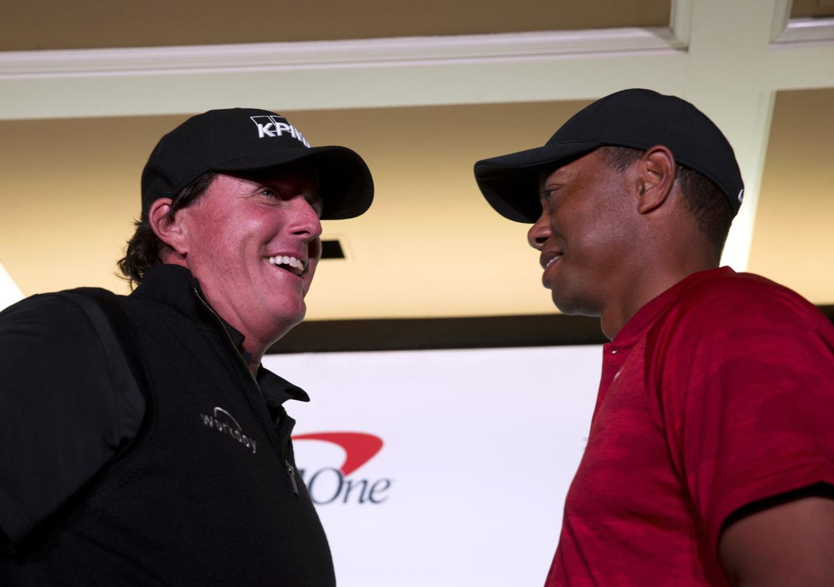 Woods, Mickelson sponsoring side-bets at 'The Match'
