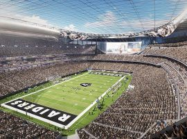 The future home of the Raiders in Las Vegas will inevitably host a Super Bowl. But when? (Image: Tara Mack/Las Vegas Review-Journal)